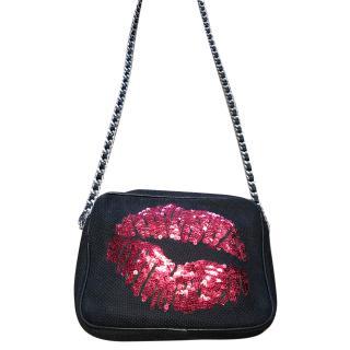 Sarah's Bag Lips sequin Bag