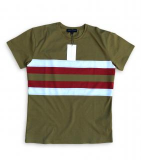 Jonathan Saunders Striped Cotton T-Shirt
