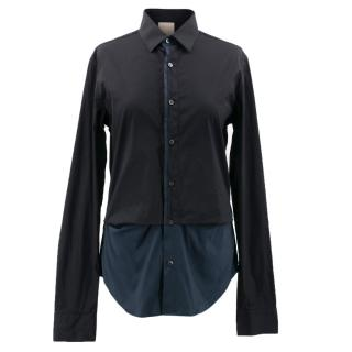 Wooyoungmi Black and Navy Shirt
