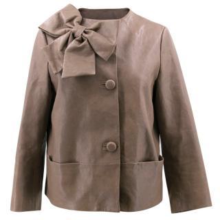 Kate Spade Dorothy Leather Jacket