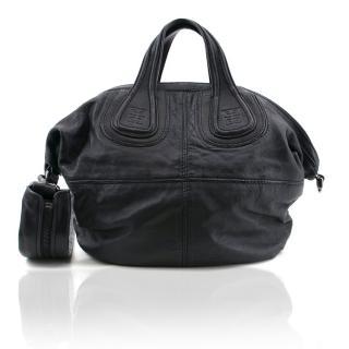Ginvenchy Nightingale Medium Leather Satchel Bag