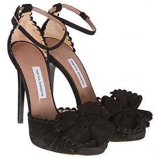 Tabitha Simmons ruby black suede heels, 6