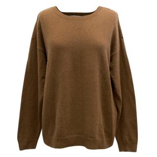Sandro Brown Wool Jumper