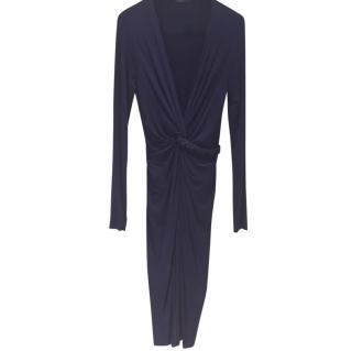 Donna Karan Dark Blue Dress