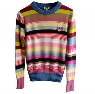 Kenzo tiger crest sweater size XS