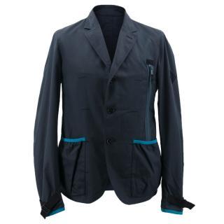 Alexander McQueen Navy Blue Jacket
