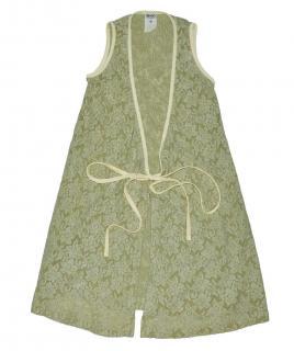 Dolce & Gabbana Lace Green Tie Cardigan size 26/40