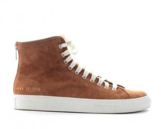 Woman by Common Projects 'Tournament' High Suede Sneakers