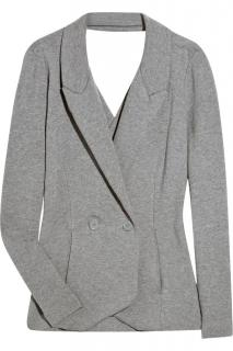 T by Alexander Wang Cutout cotton Grey blazer