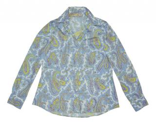 Etro Milano Stunning Abstract Shirt size IT 48