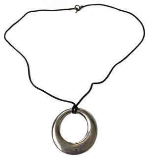 Hermes Large Pendant Necklace
