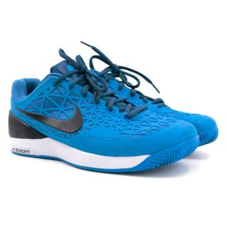 Nike Blue Zoom Cage 2 Trainers