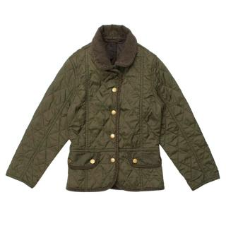 Barbour Olive Green Liddesdale Jacket