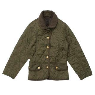 Barbour Olive Green Liddesdale Jacket