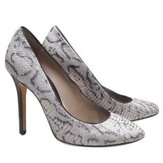 D&G snake print heels