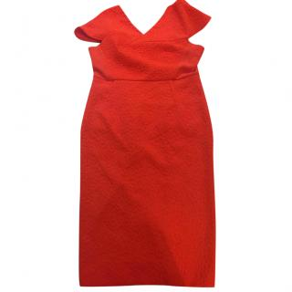 Roland Mouret Orange dress