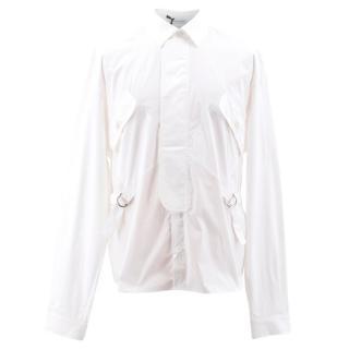J.W Anderson White Patch Pocket Shirt