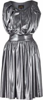 Vivienne Westwood - Anglomania Gardner Dress - Metallic Silver
