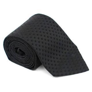 Givenchy Black Silk Tie