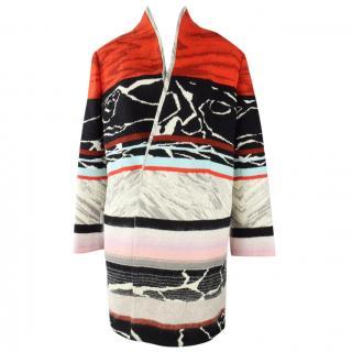 Missoni Multi Coloured Wool Coat