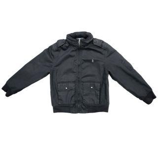 Ralph Lauren Polo Black Bomber Jacket
