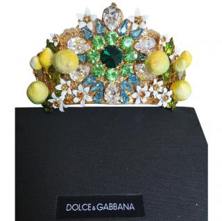 Dolce & Gabbana lemon tiara