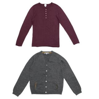 Bonpoint and CdeC Knitwear Set