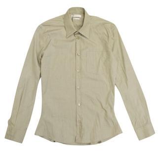 Alexander McQueen Khaki Shirt