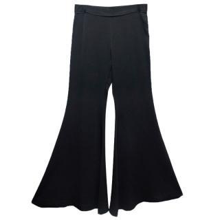 Ellery Black Flare Trousers