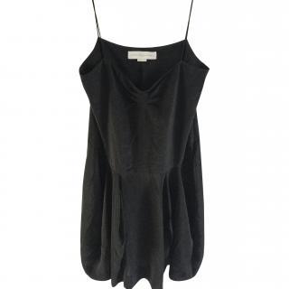Stella McCartney Black Silk Dress IT42 UK 10