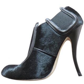 Manolo Blahnik black Peresil Putre Shetland shoes