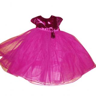HARRODS velvet organza party dress