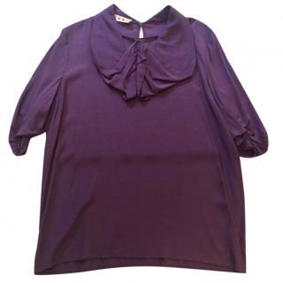 Vintage Marni Purple Blouse