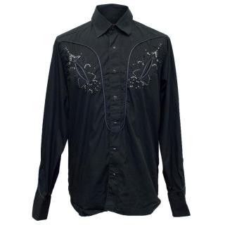 Christian Lacroix Men's Button Down Shirt