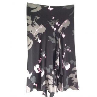 Gharani Strok silky summer skirt