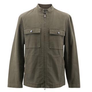 John Varvatos Military Shirt Jacket