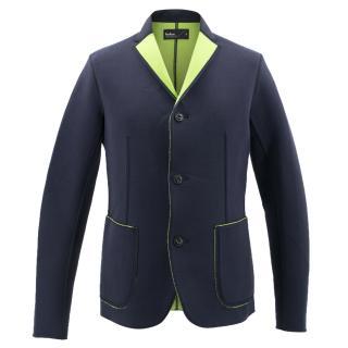 Kolor Bonded Cotton-Blend Jersey Blazer