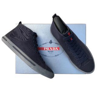 Prada Men's High Top Sneakers