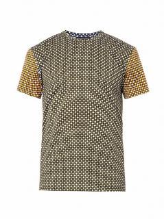 Jonathan Saunders Hazard-Print T-Shirt