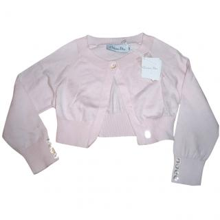 Christian Dior Girl's Pink Bolero Cardigan