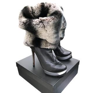 Walter Steiger Fur Boots