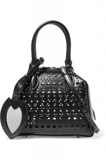 Alaia Classic iconic laser cut Shoulder Bag