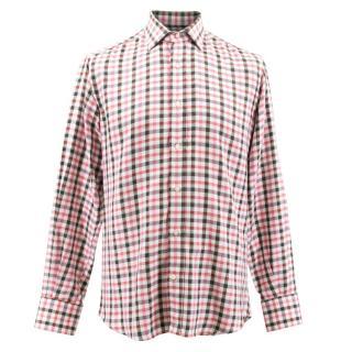 Etro Multicolored Plaid Shirt