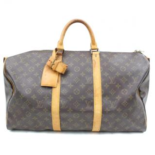 Louis Vuitton Keepall Bandoliere 50 M41416 Boston Bag
