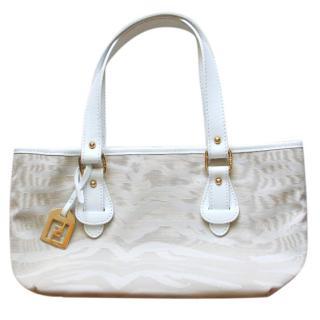 Fendi White Summer Bag