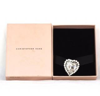 Christopher Kane love heart brooch