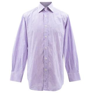 Etro Check Embellished Shirt