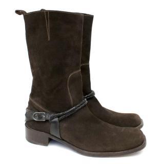 Bottega Veneta Suede Boots
