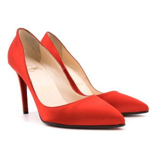 Christian Louboutin Red Decolette Pumps