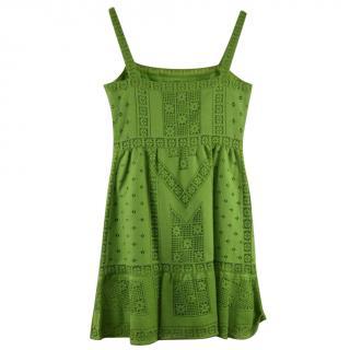Valentino Womens Sundress Green